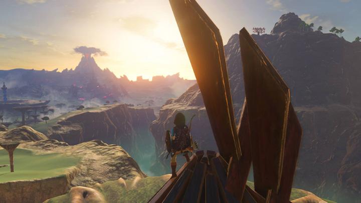 Un Camp de Lizalfos près du canyon Gerudo (Screenshot - Screenshots publiés sur les réseaux sociaux- Breath of the Wild)
