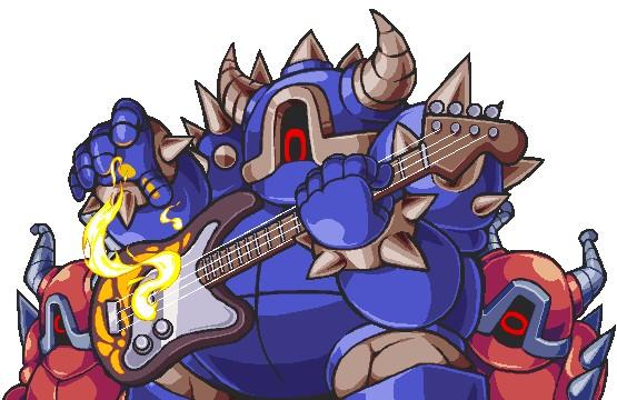 Artwork des Guitarmos (Artwork - Ennemis - Cadence of Hyrule)