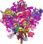 Artwork de Cadence of Hyrule