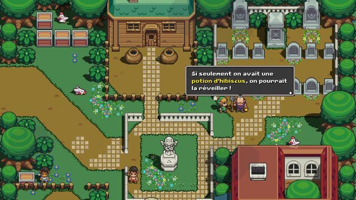 Cadence of Hyrule - Comment réveiller Link ou Zelda