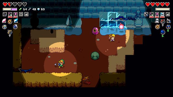 Zelda et Link collaborant (Screenshot - Screenshots - Cadence of Hyrule)
