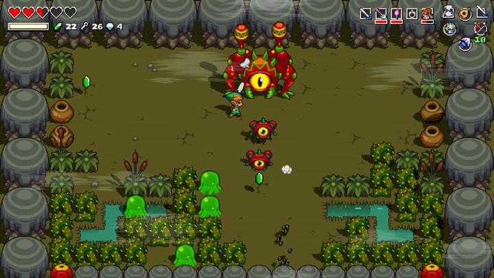 Link combattant Gohmaracas (Screenshot - Screenshots - Cadence of Hyrule)