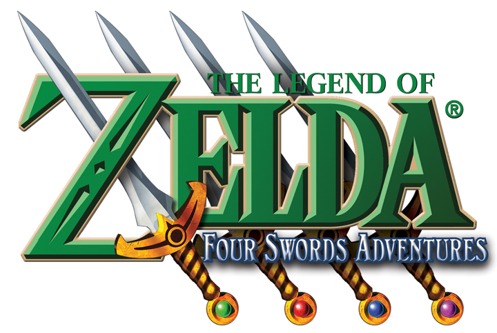 Logo de Four Swords Adventures (Image diverse - Logos - Four Swords Adventures)