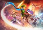 Zelda, Link et Lana affrontant une horde d'ennemis