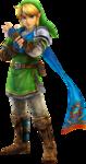 Link dans la tenue du héros