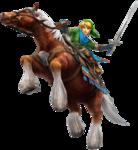 Link avec Epona
