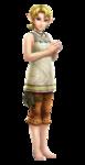 La Princesse Zelda dans la tenue d'Iria