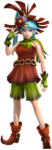 Lana dans la tenue de Skullkid