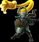 Midona attaquant, sous sa forme maudite