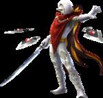 Ghirahim attaquant avec l'épée démoniaque