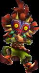 Skull Kid jouant de l'Ocarina