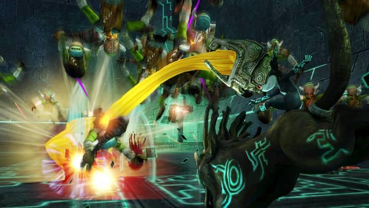 Midona attaquant (Screenshot - Screenshots de la version Wii U- Hyrule Warriors)
