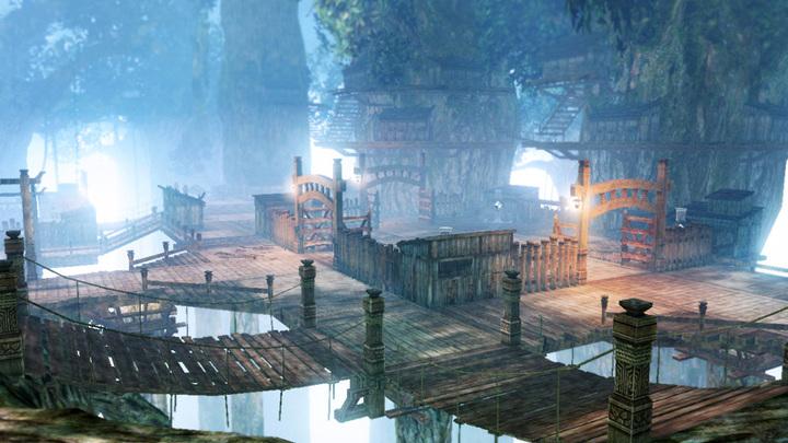 La forêt de firone (Screenshot - Screenshots de la version Wii U- Hyrule Warriors)