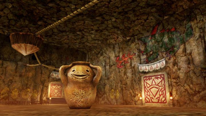L'antre du chef (Screenshot - Screenshots de la version Wii U- Hyrule Warriors)