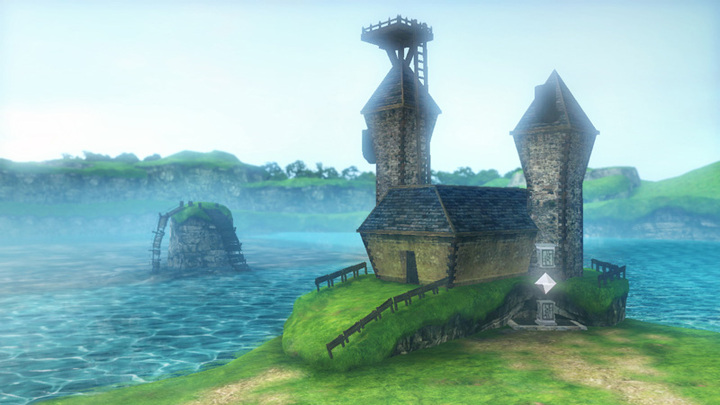 Le Lac Hylia (Screenshot - Screenshots de la version Wii U- Hyrule Warriors)
