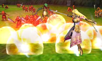 La Princesse Zelda attaquant (Screenshot - Screenshots de la version 3DS- Hyrule Warriors)