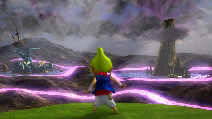 Tetra découvrant la faille dimensionnelle (Screenshot - Screenshots de la version Wii U- Hyrule Warriors)