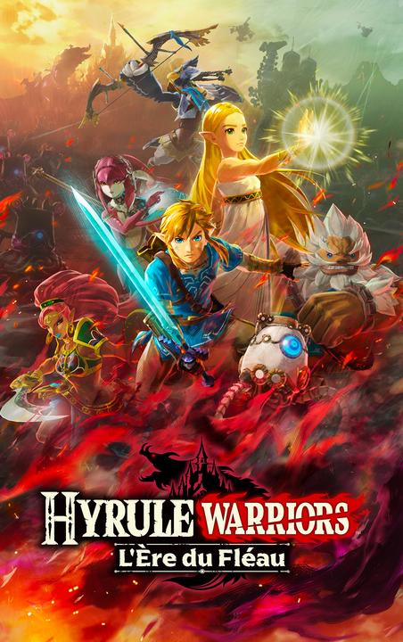 Artwork vertical (Artwork - Illustrations - Hyrule Warriors : L'Ère du Fléau)