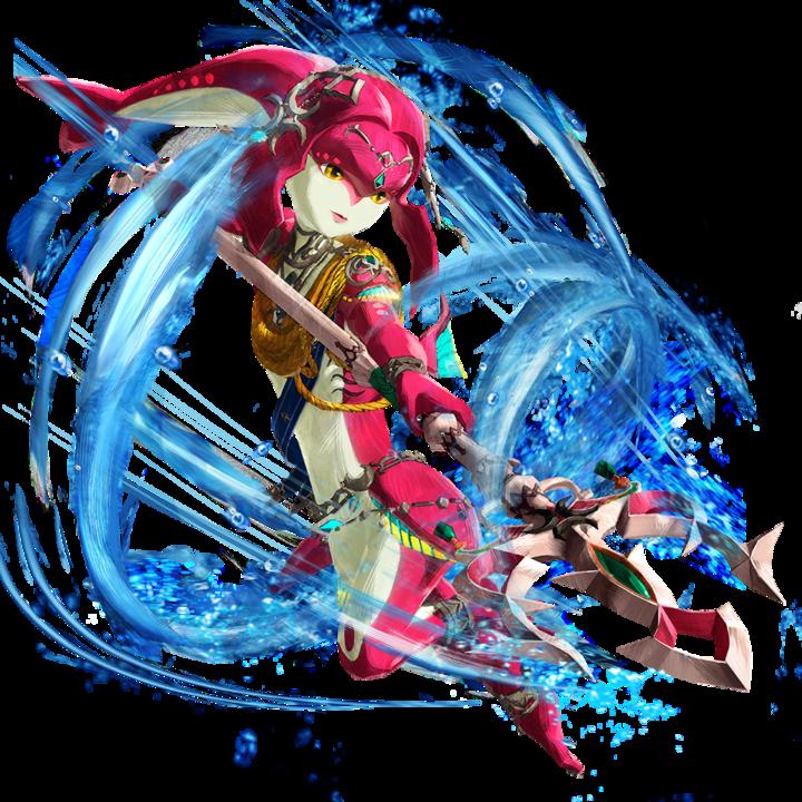 Mipha (Artwork - Personnages - Hyrule Warriors : L'Ère du Fléau)