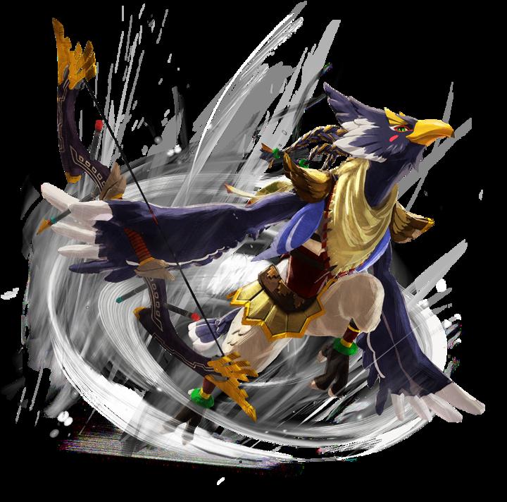 Revali (Artwork - Personnages - Hyrule Warriors : L'Ère du Fléau)