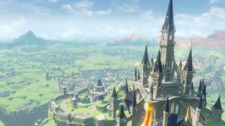 Le château d'Hyrule (Screenshot - Screenshot du Press Kit- Hyrule Warriors : L'Ère du Fléau)