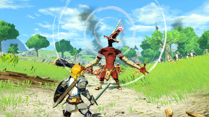 Screenshot issu du trailer (Screenshot - Screenshot du Press Kit- Hyrule Warriors : L'Ère du Fléau)