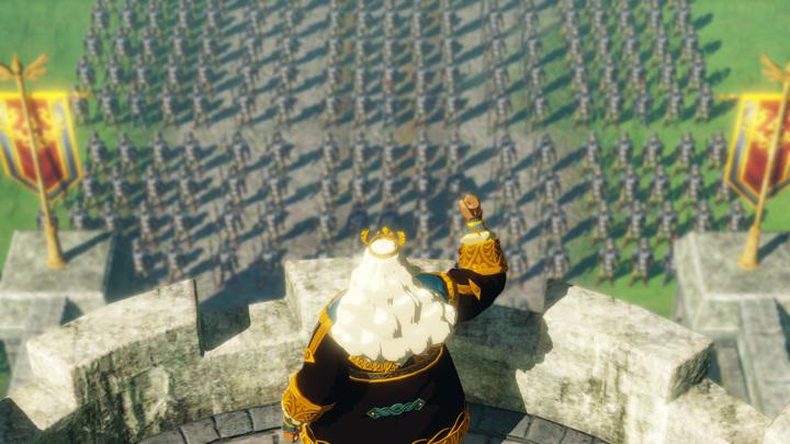 Screenshot issu du trailer (Screenshot - Screenshot du Press Kit- Hyrule Warriors : L'Ère du Fléau)