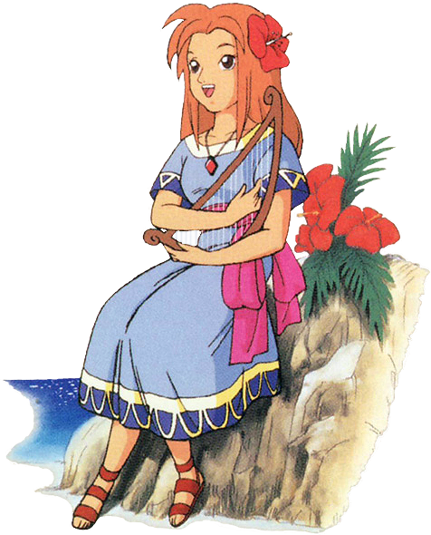 Marine (Artwork - Personnages - Link's Awakening)