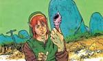 Link trouvant un coquillage secret