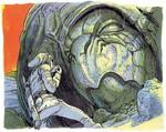 Link devant le Roc Tortue