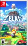 Boîtier américain de Link's Awakening sur Nintendo Switch