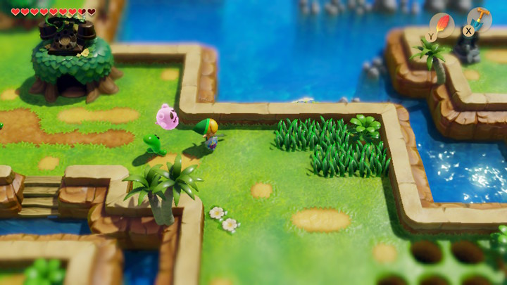 Link's Awakening Switch — Baie de Martha