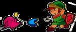Link combattant un Octorok