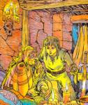 Link et Impa (Nintendo Player's Guide)