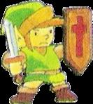 Link se défendant