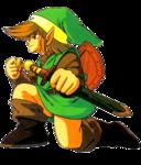 Link à genou