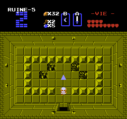 Screenshot du guide du donjon Z de The Legend of Zelda