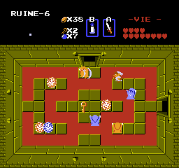 Screenshot du guide du donjon Chapeau de The Legend of Zelda
