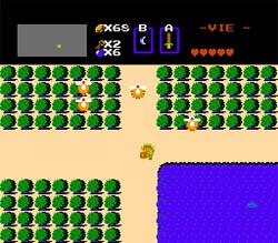 Test de The Legend of Zelda (NES) . Screen-1