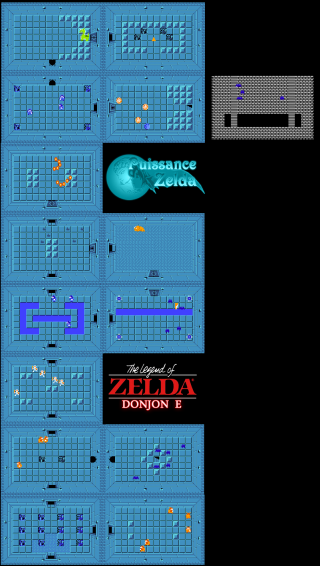 Carte de The Legend of Zelda