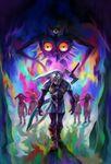 Oni-Link, l'incarnation de Majora et les enfants de la lune