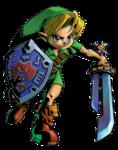 Link tenant la Lame Rasoir