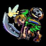Link attaquant avec la Lame Rasoir