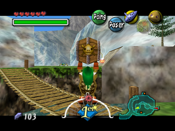 Screenshot - Bouteilles / Flacons de Majora's Mask sur Nintendo 64