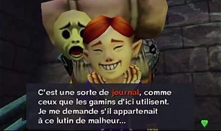 Screenshot du jeu - Majora's Mask 3D - Le Masque Mojo