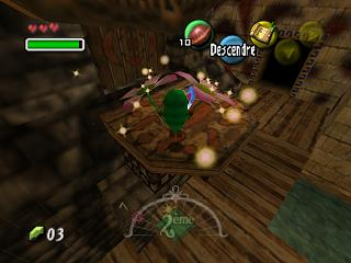 Screenshot du jeu - Majora's Mask 64 - Le Masque Mojo