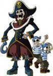Capt'n et deux piratians
