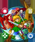 Illustration des différents protagonistes