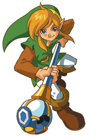 Link dans Oracle of Seasons