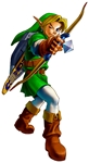 Link adulte tirant à l'arc